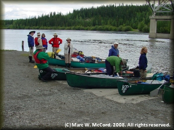 Johnson's Crossing on the Teslin River