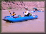 Anie and Larry on the Green River