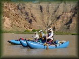 Larry, Lynn and Marty on the Green River