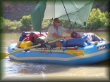 Jodi and Rick on the Green River