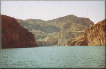 Salt River between Apache Lake and Canyon Lake