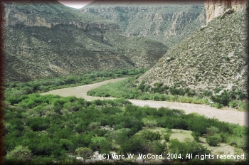 The Lower Canyons of the Rio Grande