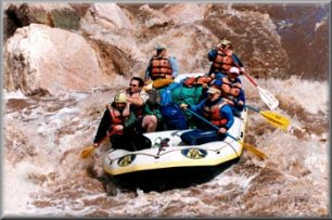 Rafting the Upper Salt River - photo courtesy Wilderness Aware Rafting